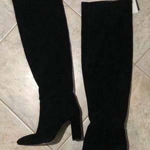 Zara Knee High Leather Mia Boot